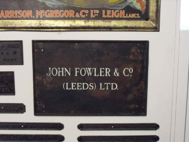 Jf Works Plaque Reading