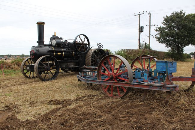 Jf 13881 Aa6 Steam Plough Ephraim No372 Crockey Hill 2016 Kw