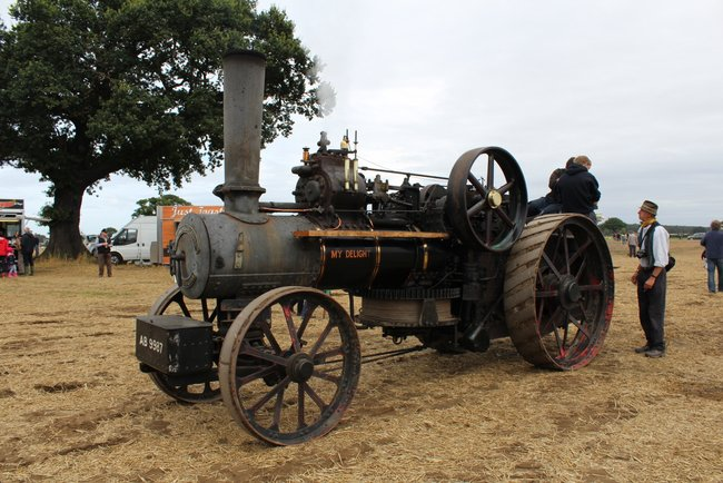 Jf 13910 Dd Steam Plough My Delight Ab9987 Crockey Hill 2016 Kw
