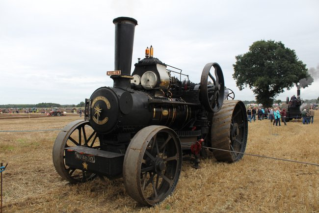 Jf 14712 14nhp Steam Plough Wilbur Crockey Hill 2016 Kw