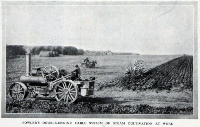 Jf Steam Plough Drawing Gg