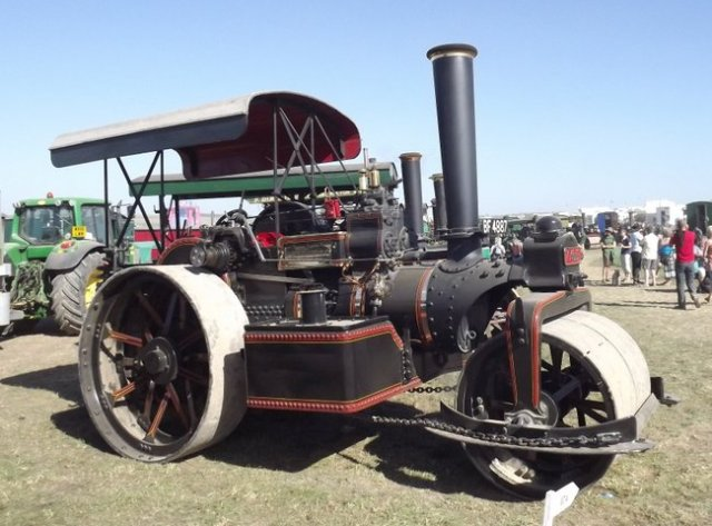 Jf 17071 Steam Roller Dorset 2013 Kw