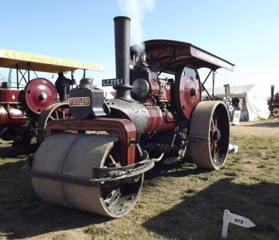 Jf 17487 Steam Roller Dorset 2013 Kw