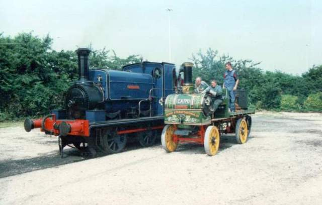 Y 117 Steam Lorry And Mw 1601 Middleton Kw