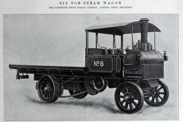 (Yorkshire Patent Steam Wagon Co 859/1915)
